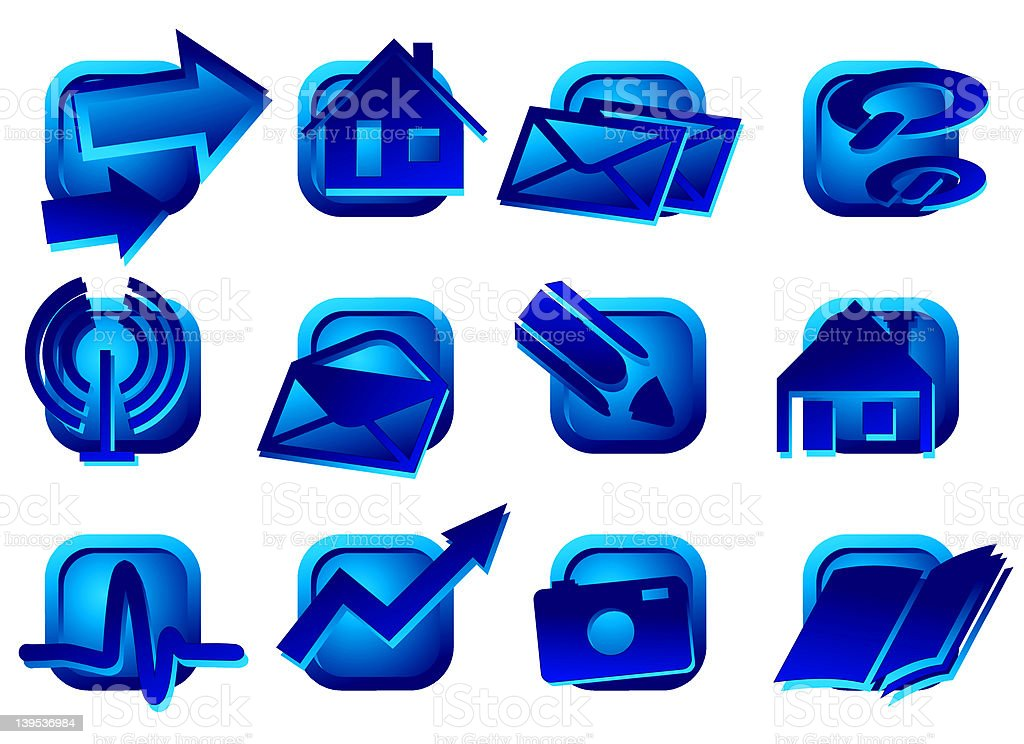 www buttons - design elements III royalty-free stock photo