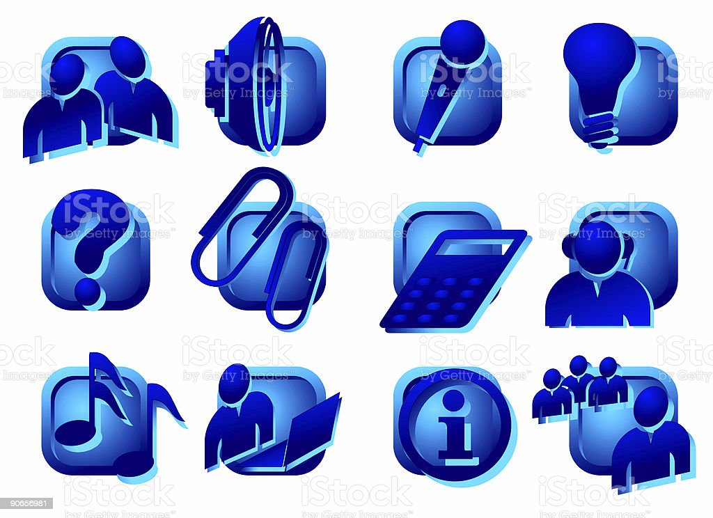 www. buttons - designs elements I royalty-free stock photo