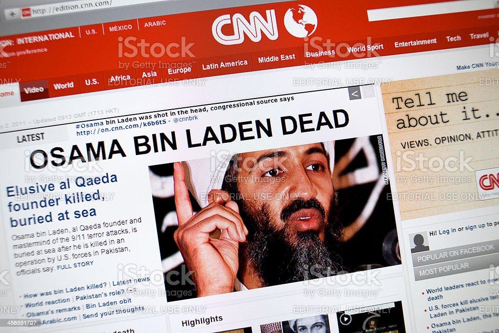 www.cnn.com main page stock photo