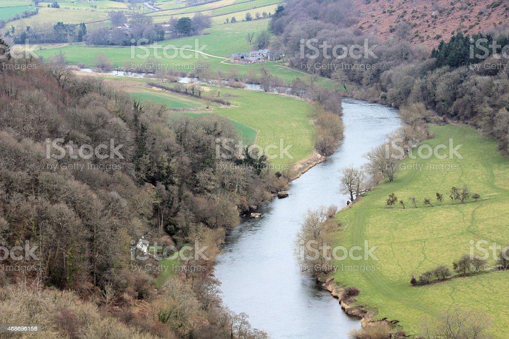 Wye Valley stock photo