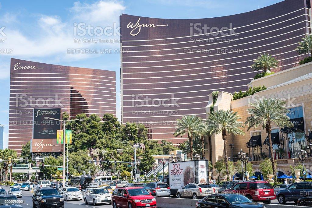 Wynn and Encore Las Vegas Resort. stock photo