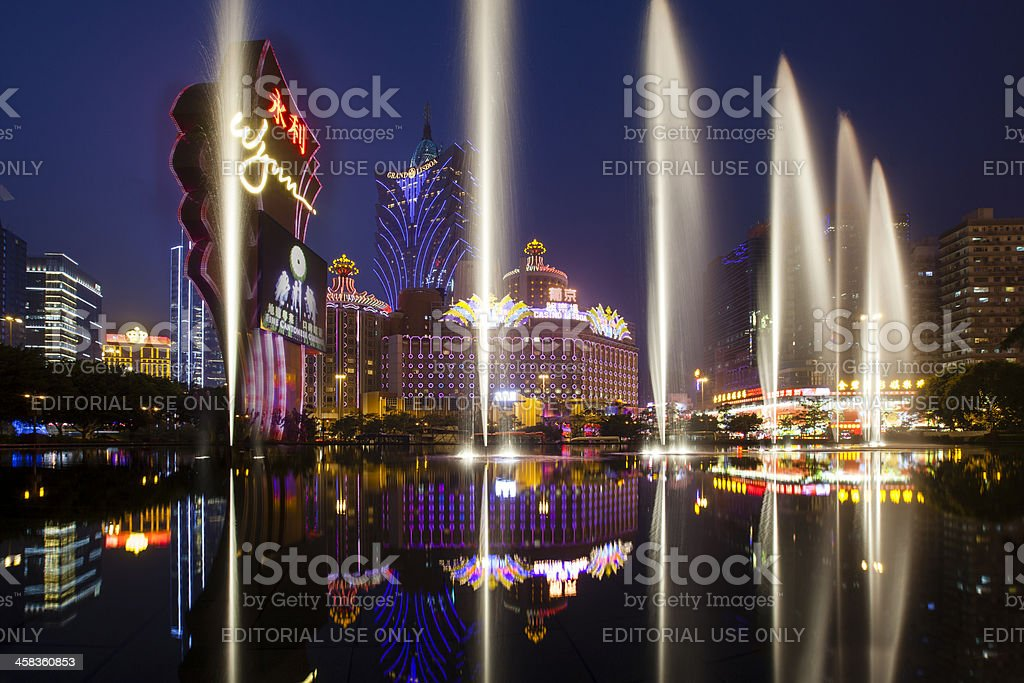 Wynn Casino stock photo