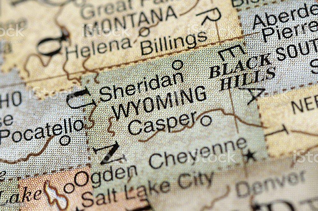 Wyoming royalty-free stock photo