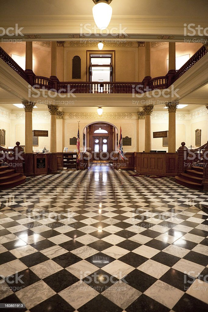 Wyoming State Capitol Building royalty-free stock photo