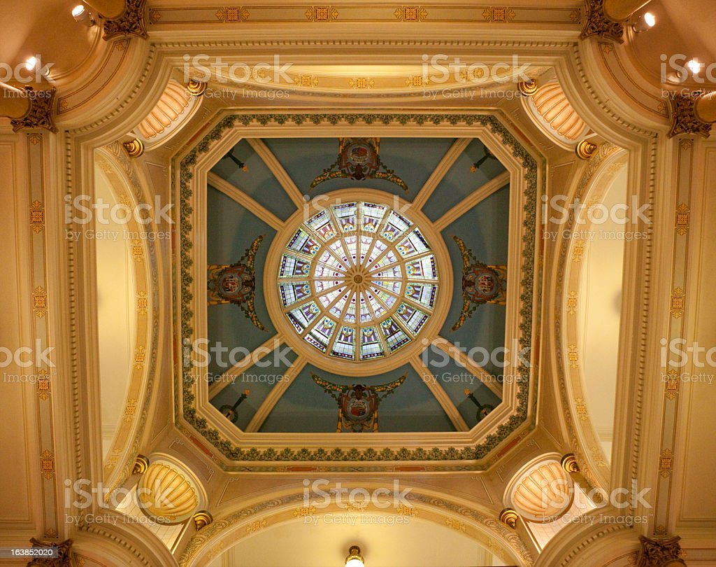 Wyoming State Capitol Building stock photo