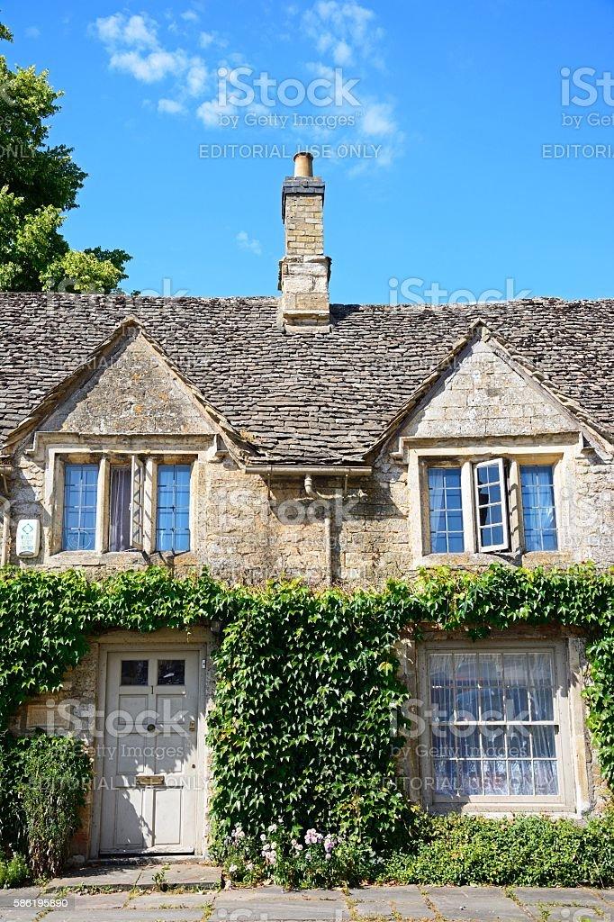 Wysdom Cottage, Burford. stock photo