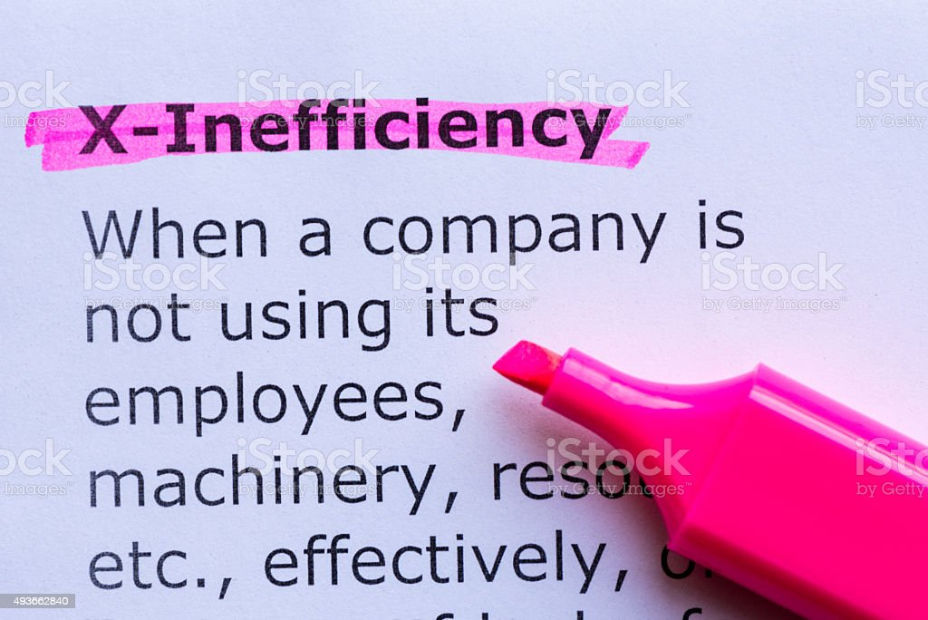 x efficiency stock photo