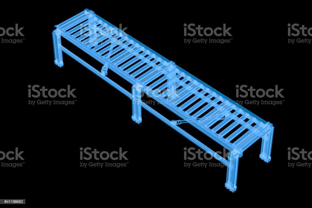 x ray empty conveyor belt stock photo
