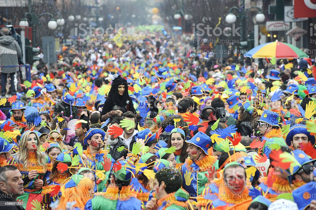 Xanthi Carnival stock photo
