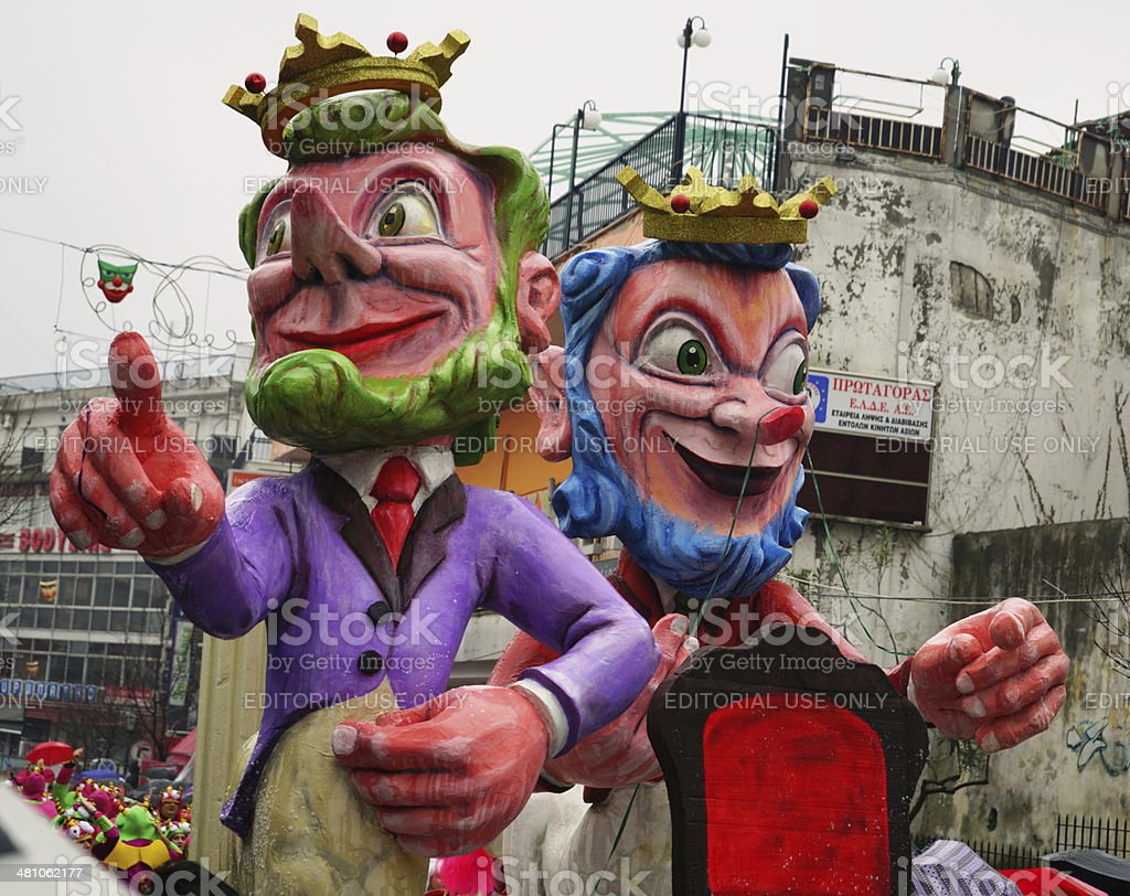Xanthi Carnival royalty-free stock photo