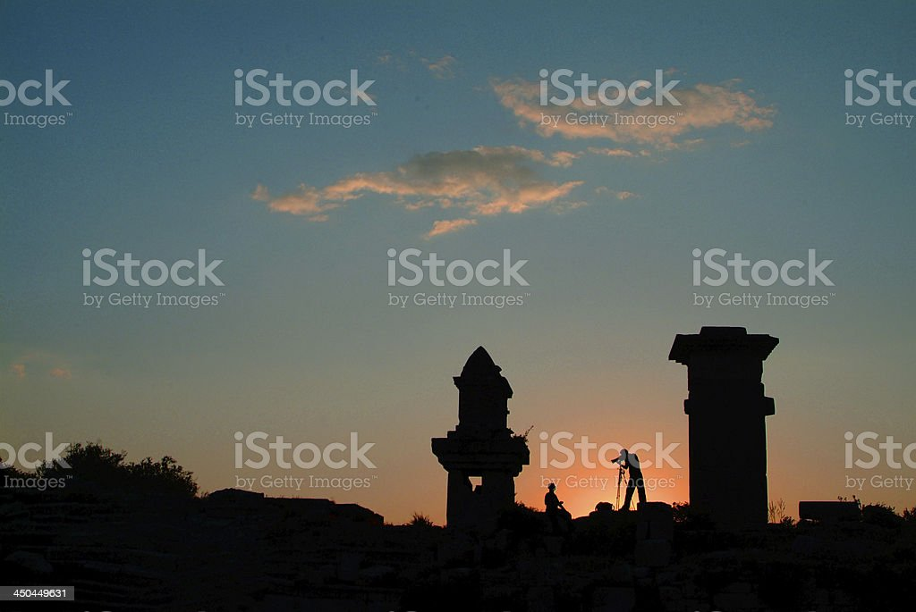 Xanthos royalty-free stock photo