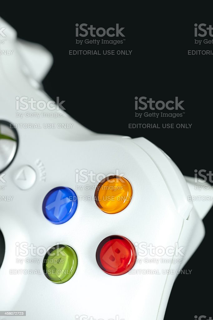 Xbox 360 controller royalty-free stock photo