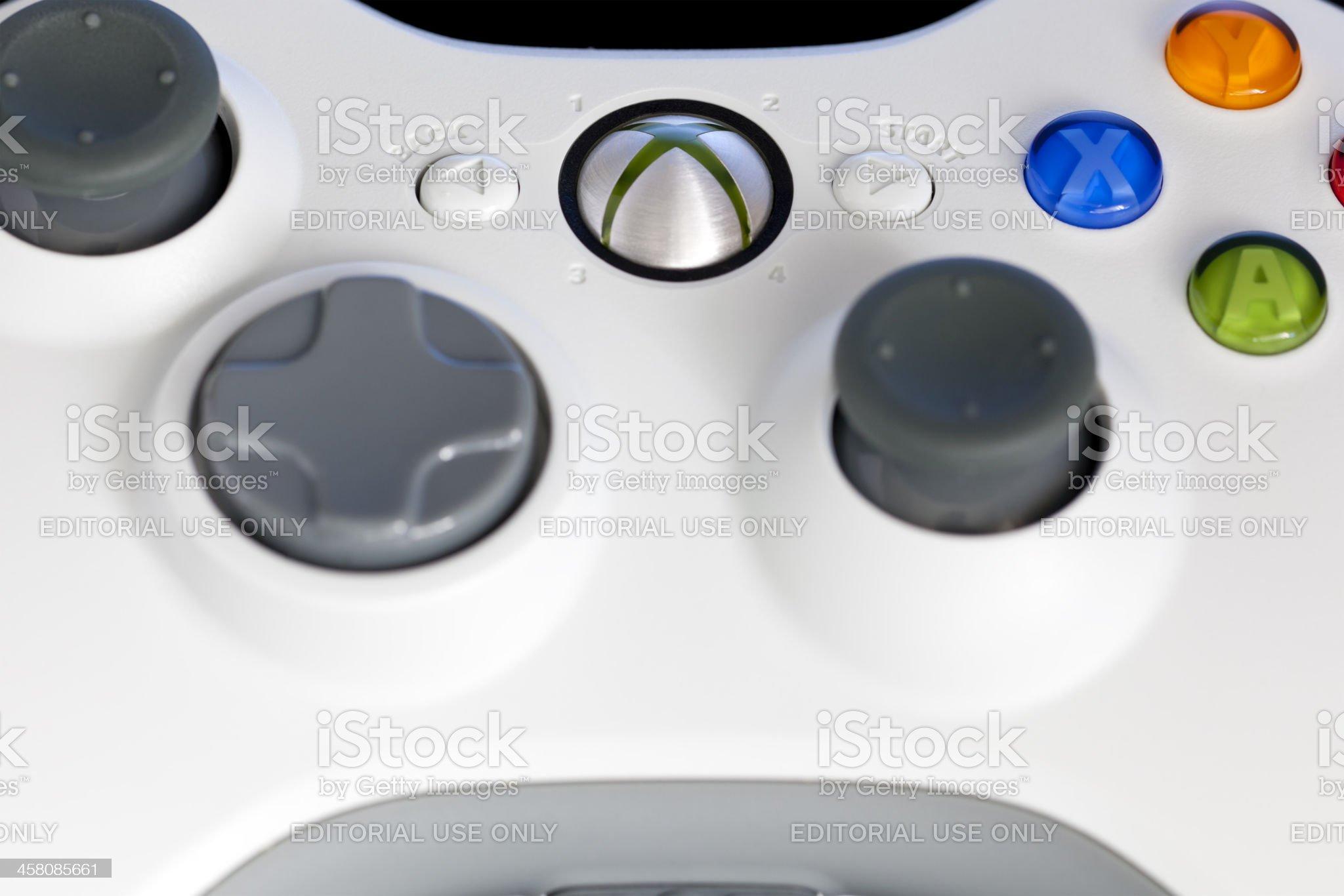 Xbox 360 controller royalty-free stock photo