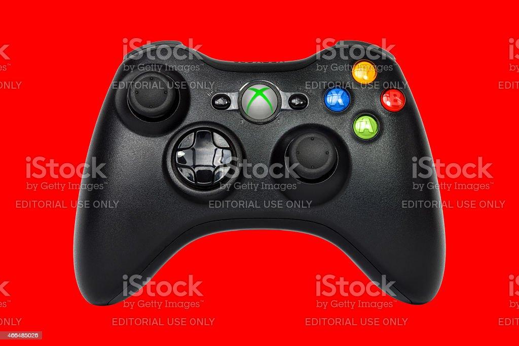 Xbox 360 Controller (Joystick) stock photo