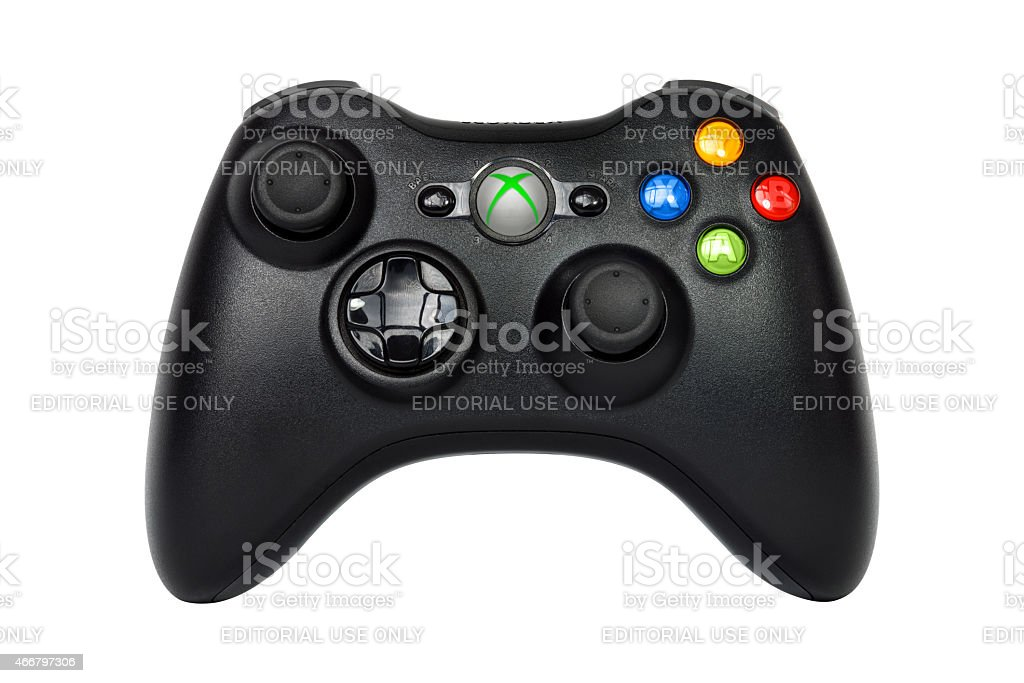 Xbox 360 Controller (Joystick) stock photo