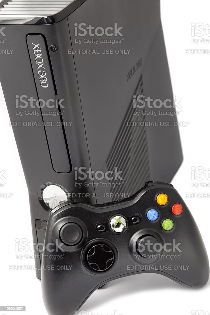 Xbox 360 Game Console royalty-free stock photo