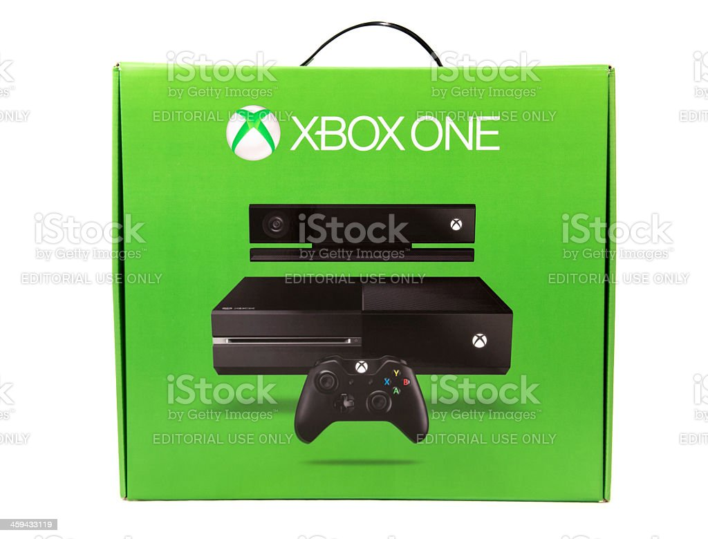 Xbox One Box royalty-free stock photo