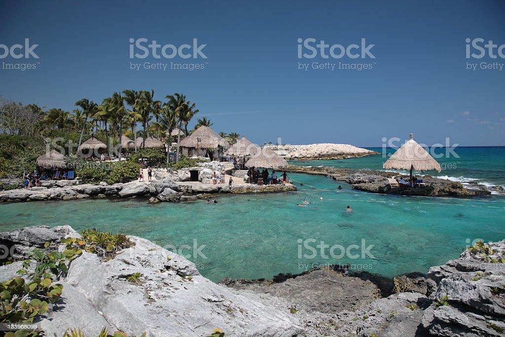 Xcaret, Mexico royalty-free stock photo