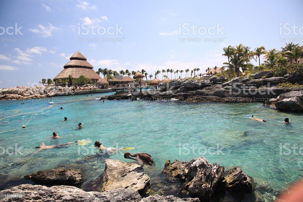 Xcaret, Mexico stock photo