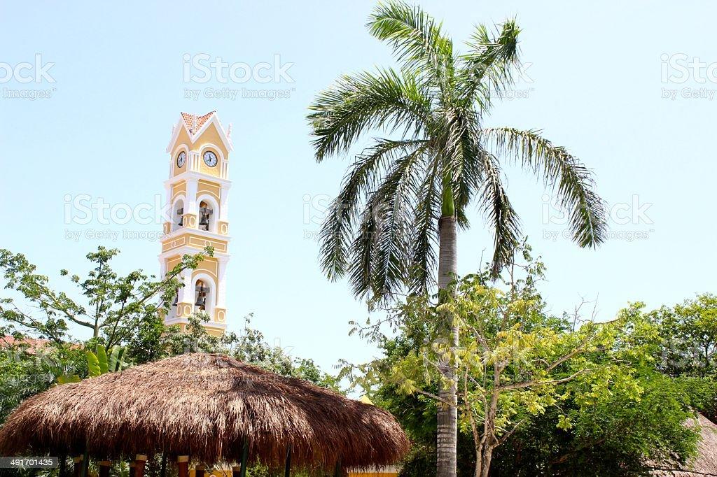 Xcaret Park, Mexico's sacred paradise royalty-free stock photo