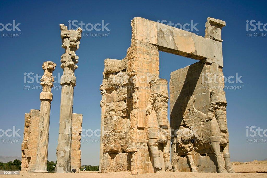 Xerxes Gate stock photo