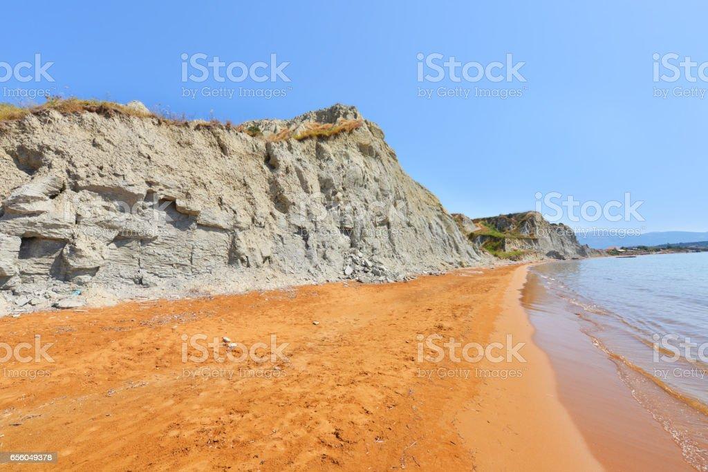 Xi beach stock photo