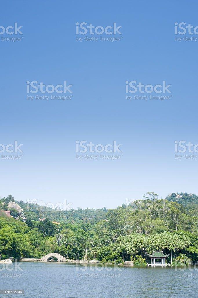 Xiamen botanical garden landscape royalty-free stock photo