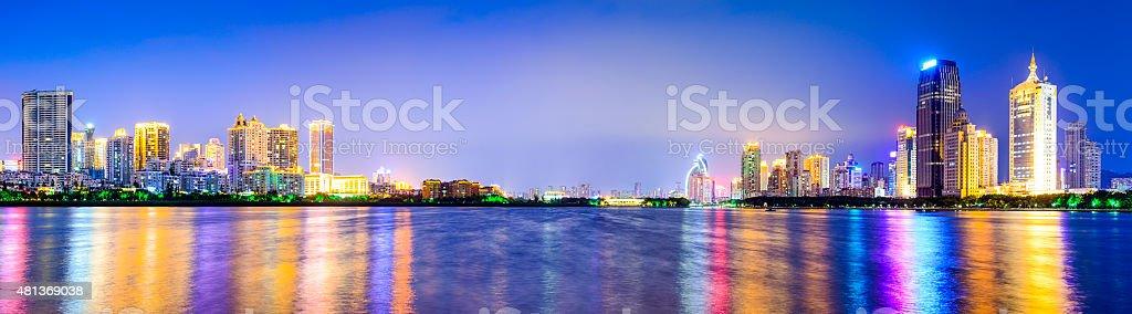 Xiamen, China Cityscape stock photo
