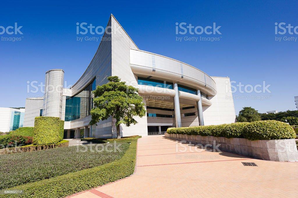 Xiamen municipal people's congress hall stock photo