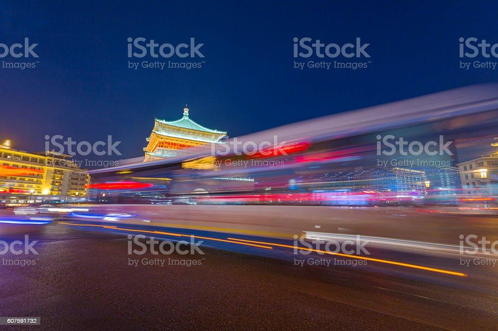 Xi'an City stock photo