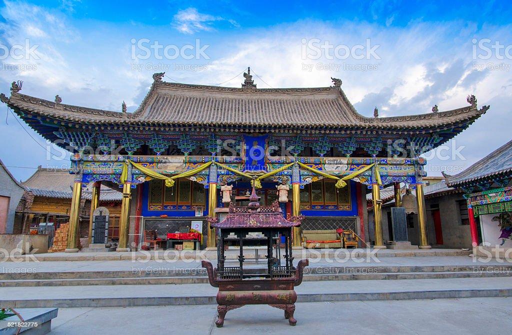 Xining Xilai Temple stock photo