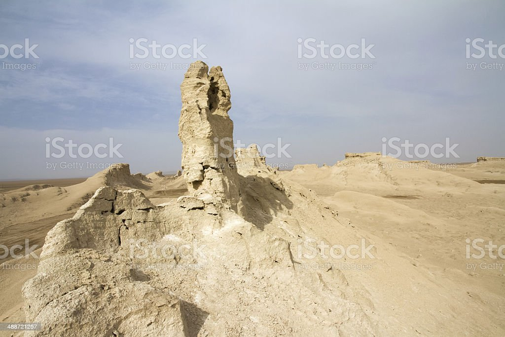 Xinjiang gobi royalty-free stock photo