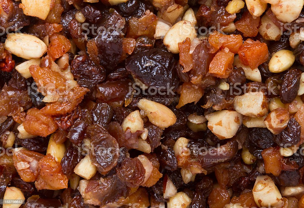 Xmas Cake Mix royalty-free stock photo