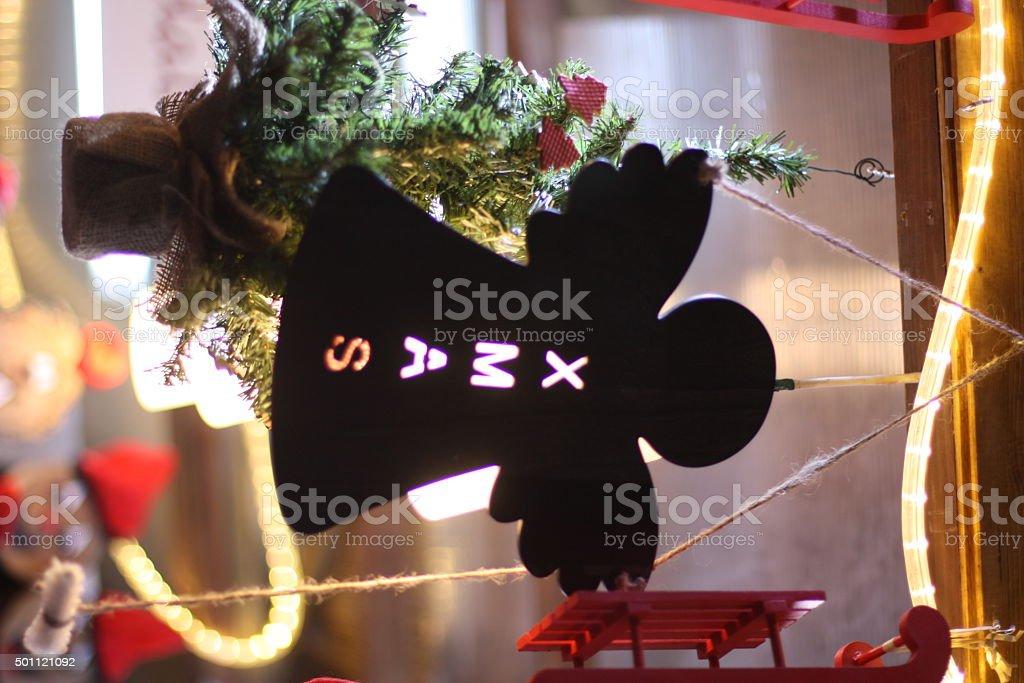 Xmas decoration stock photo