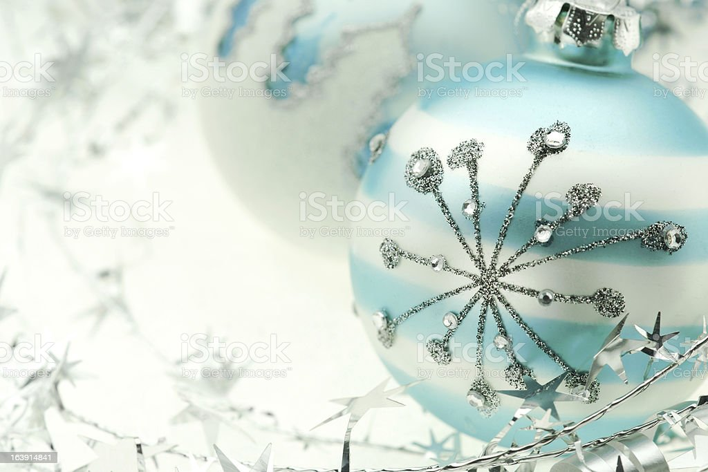 Xmas Decoration with copy space stock photo
