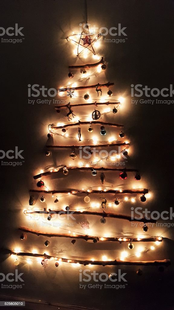 Xmas Lightings stock photo