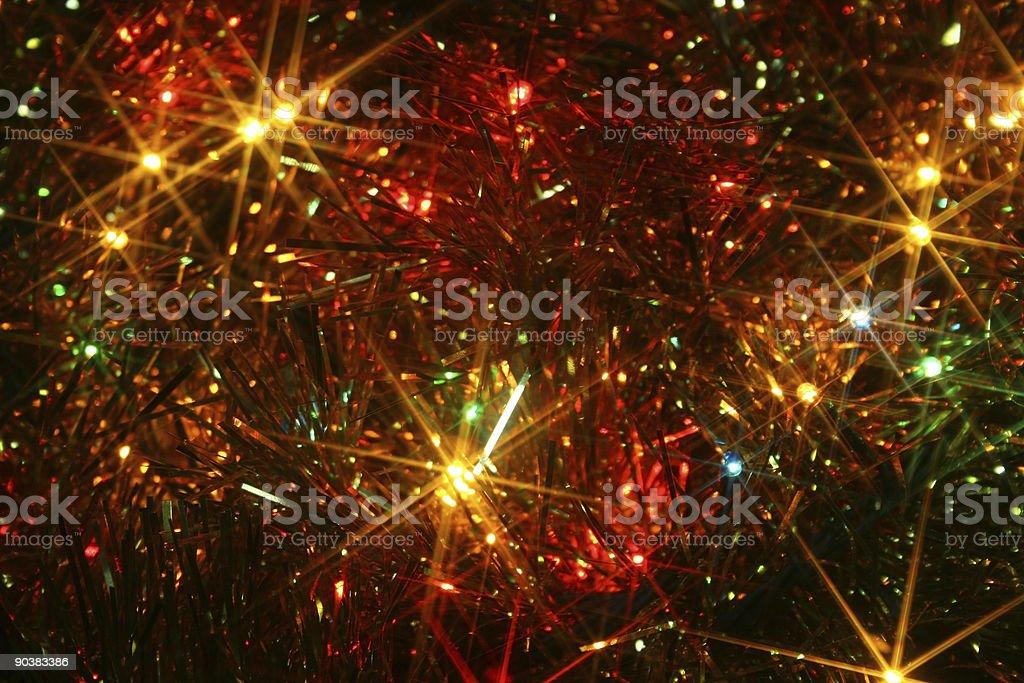 xmas lights royalty-free stock photo