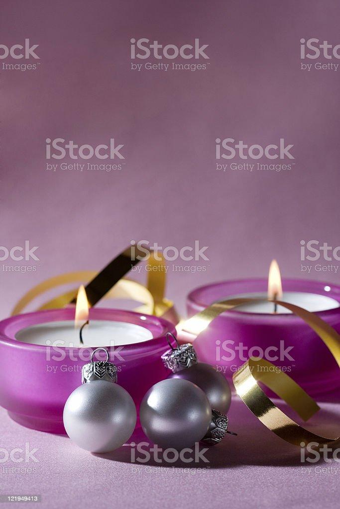 Xmas ornament - series stock photo