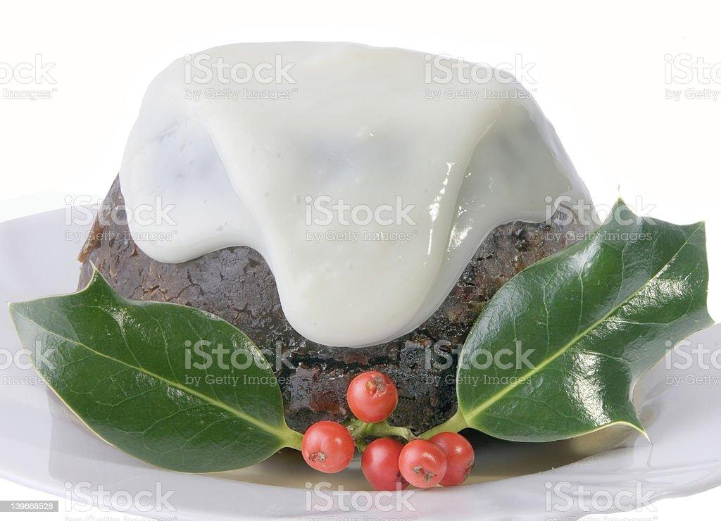 xmas pudding royalty-free stock photo