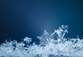 Xmas snowflake pattern