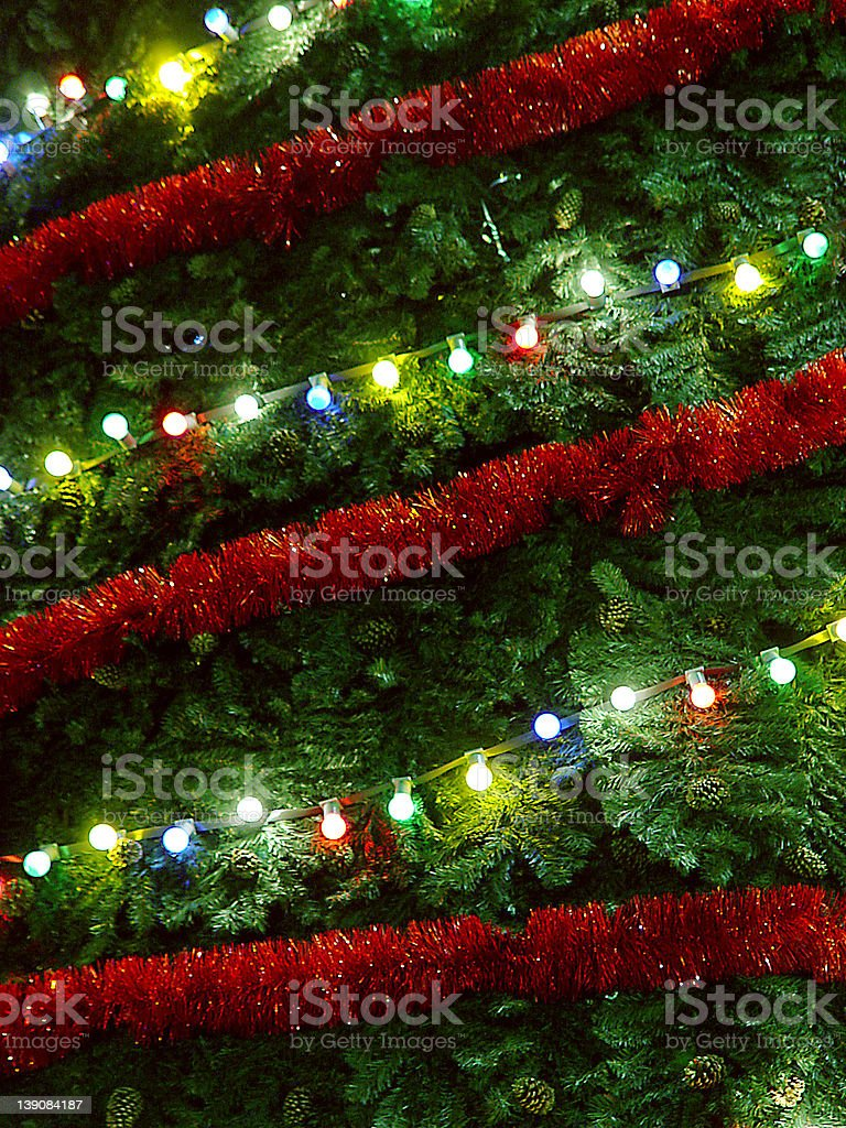 X-Mas Tree (close-up) stock photo