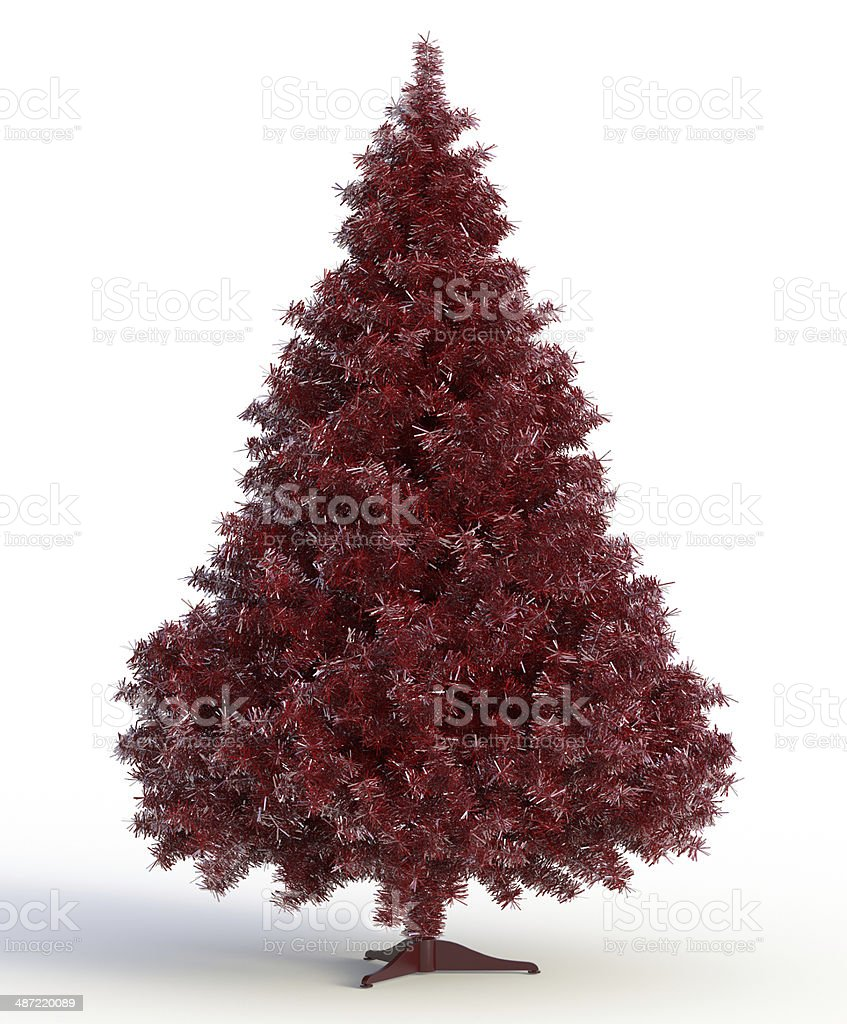 xmass tree stock photo