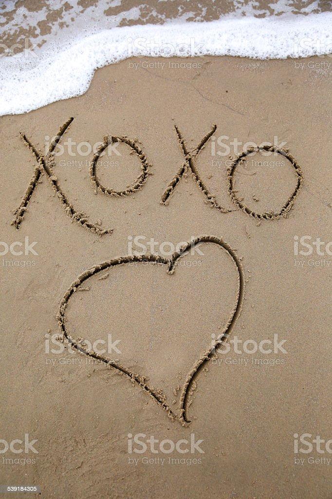 XoXo stock photo