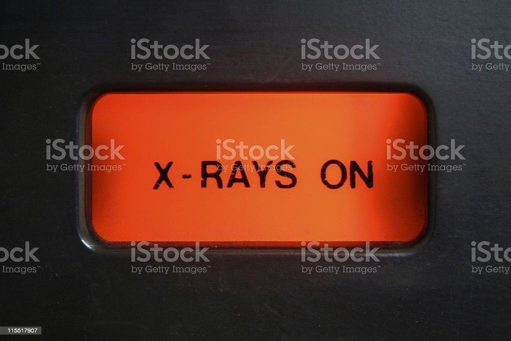 X-Ray Alert Light royalty-free stock photo