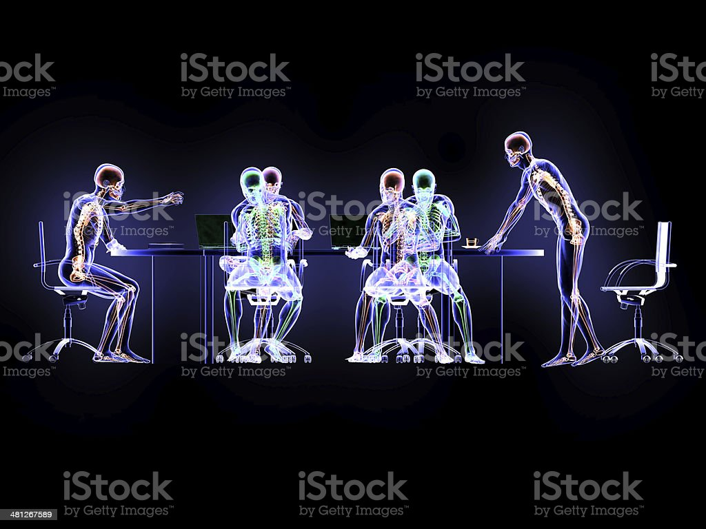 X-Ray and Conference stock photo