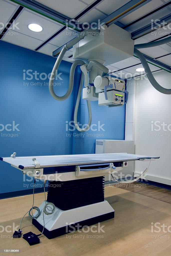 X-Ray Examination Room in Hospital royalty-free stock photo