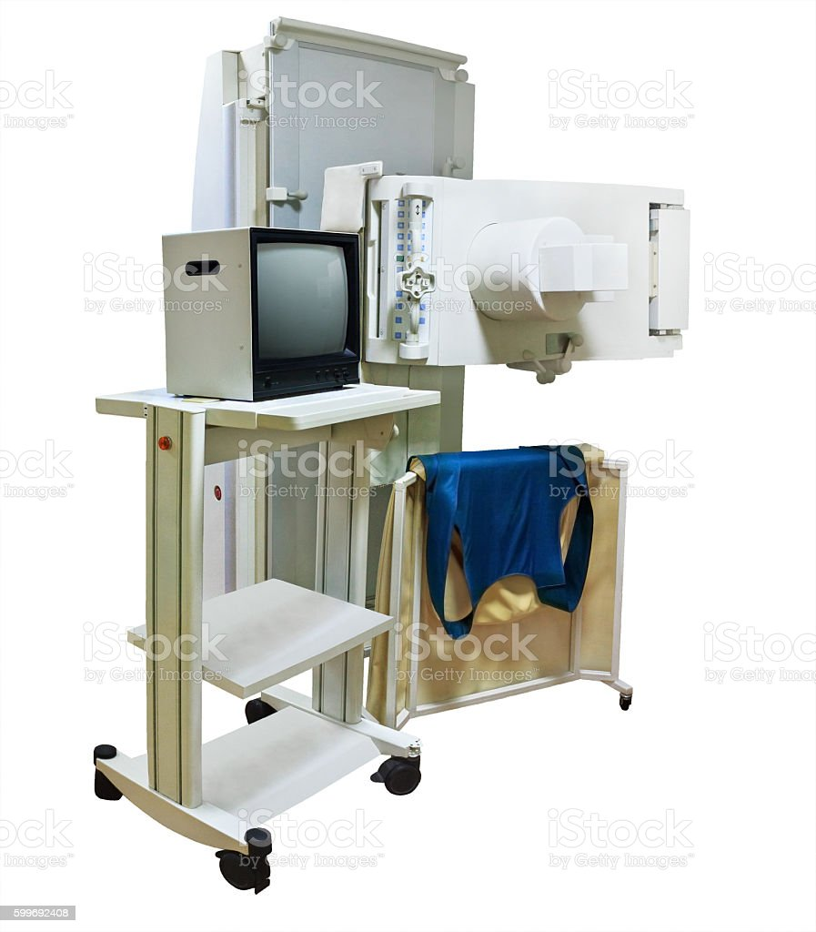 X-ray machine stock photo