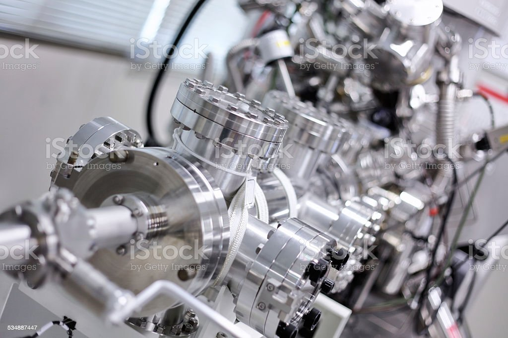 X-ray photoelectron spectrometer stock photo