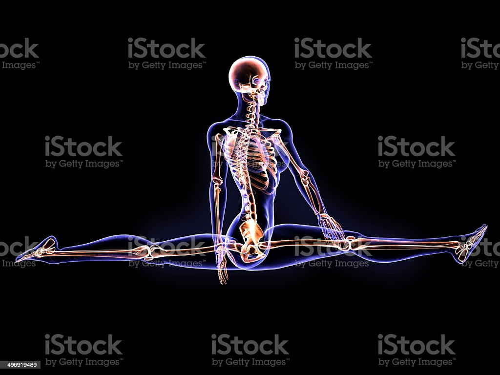 X-Ray Spaghat stock photo