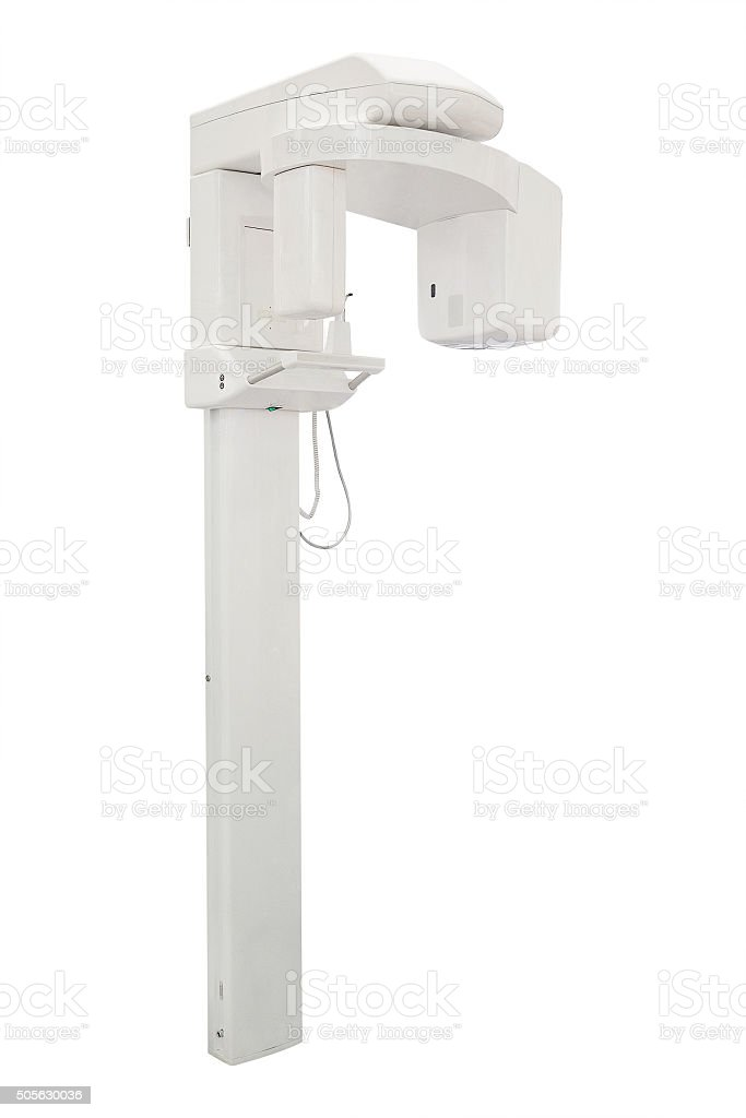 x-ray unit for dentistry stock photo